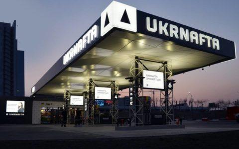 Інтер'єрні hpl панелі для Ukrnafta АЗС
