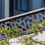Балконные ограждения, перфорация, HPL панели Gentas