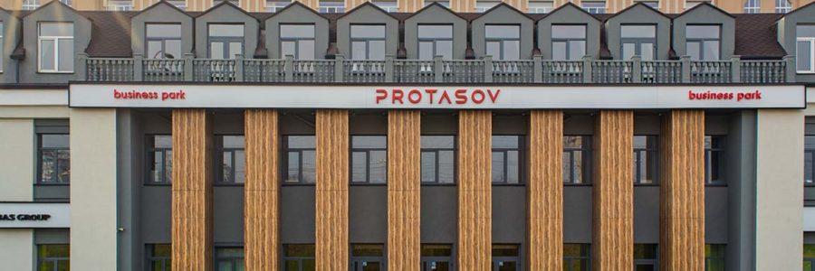 Колони БЦ «Protasov», м. Київ
