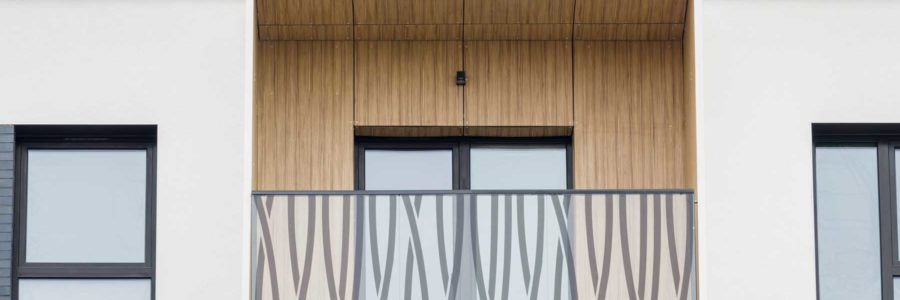 Оздоблення стін балконів, м. Вроцлав, Польща